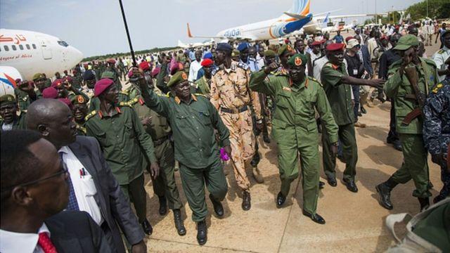 Des rebelles sud-soudanais