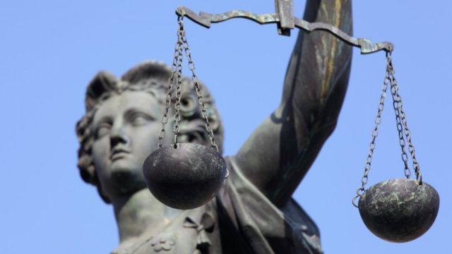 Estátua de Têmis, deusa grega que simboliza a Justiça