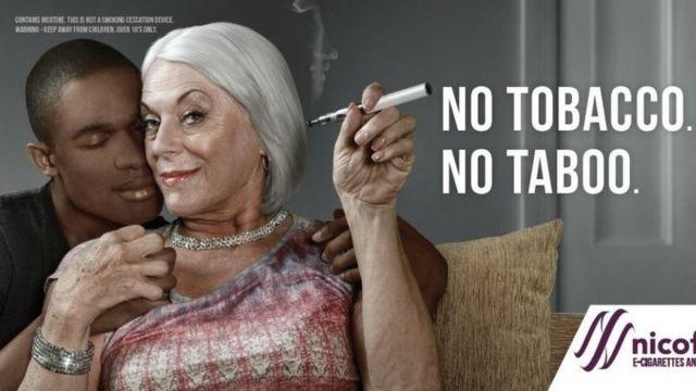 이 광고는 다른 인종 사이에 관계를 갖는 것을 금기시한다는 이유로 금지됐다