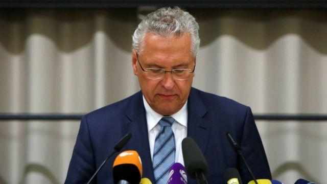 министр внутренних дел Баварии