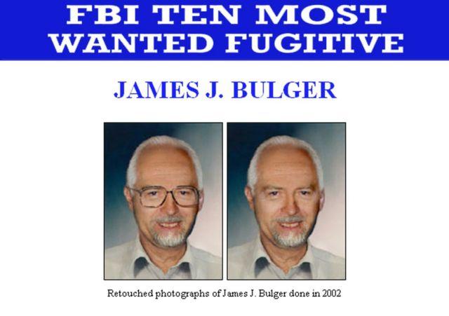FBI'ın 2002'de Bulger aranırken yayımladığı fotoğraf
