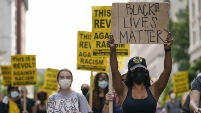 Biểu tình chống phân biệt chủng tộc ở Washington, DC. ngày 15/6