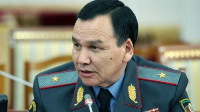 ИИМ министри Кашкар Жунушалиев