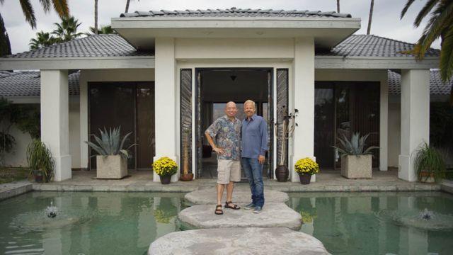 Giles Yeo con Robert O Young