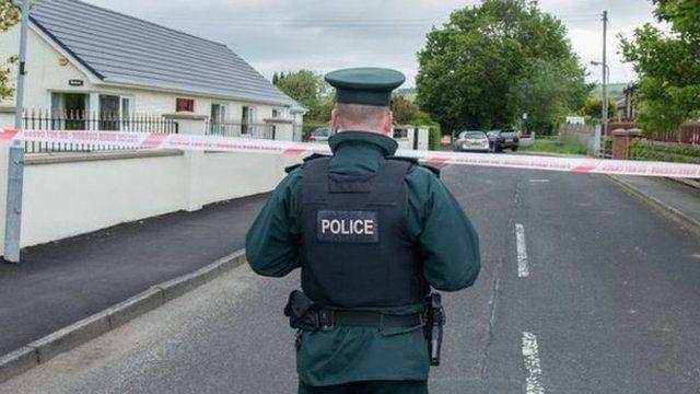 Policeman in Eglinton