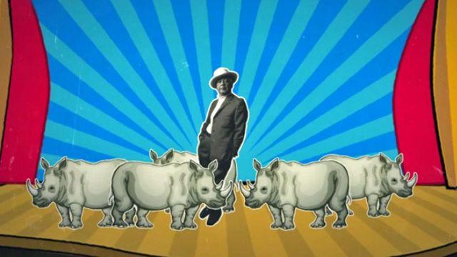 Eugène Ionesco y muchos rinocerontes