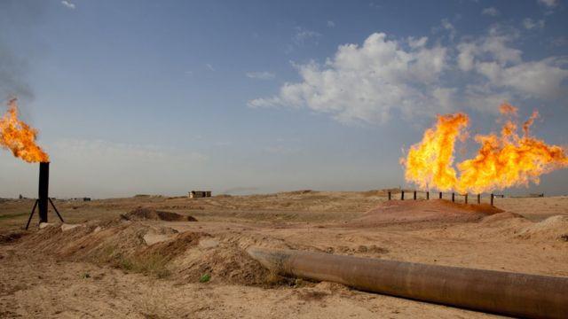 Kuzey Irak'ta boru hattı