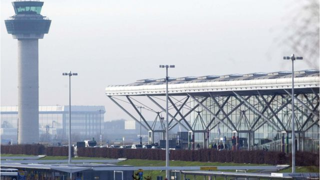 Stansted 'disruptive passenger': Woman faces £85,000 bill