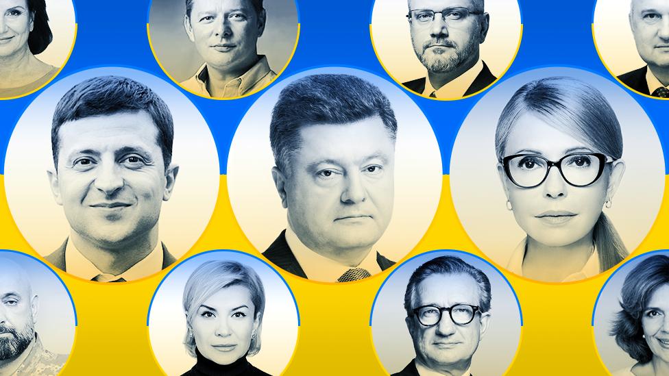 Украинанын президенттигине 44 талапкер