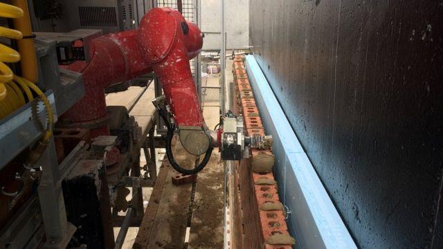 Le robot de construction SAM, maçon ou maçon semi-automatique