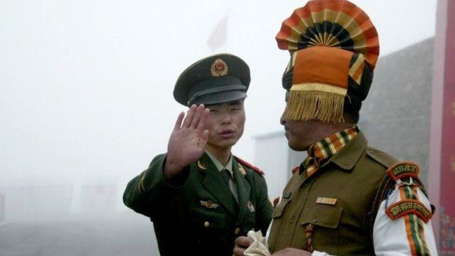 China, India, konflik