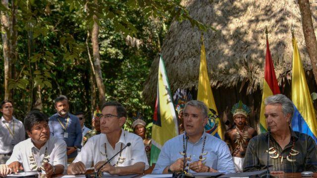 Morales y otros presidentes