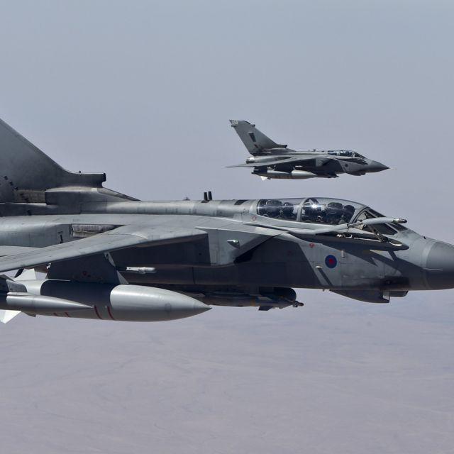 UK bombs