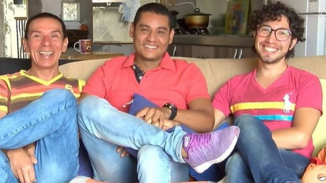 Manuel José Bermúdez Andrade, Víctor Hugo Prada and Alejandro Rodríguez