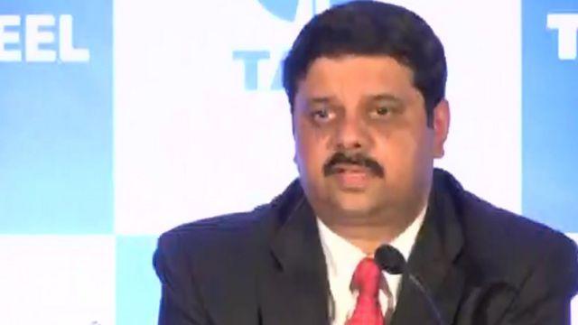 Koushik Chatterjee, Tata Steel's group executive director.