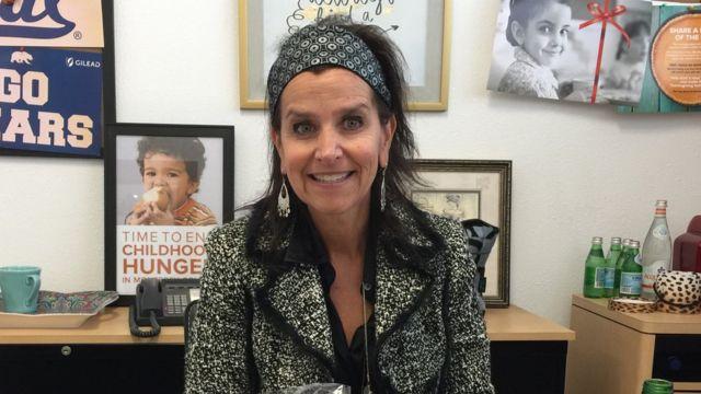 Melissa Kendrick, directora del Banco de Alimentos del condado de Monterey, California