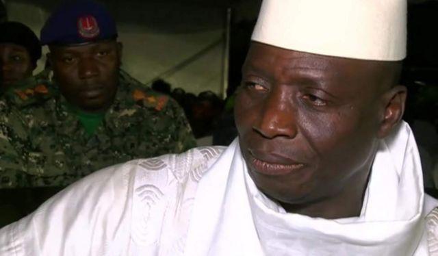 Awali Jammeh alikubali kushindwa na mfanyabiashara Adama Barrow wakati wa uchaguzi wa Disemba Mosi