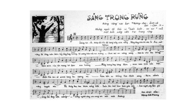 """""""Sáng trong rừng"""" của Đặng Thế Phong, Học Sinh 22 tháng 6 1939, tr. 7"""