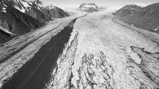 Heinabergsjökull glacier 1989