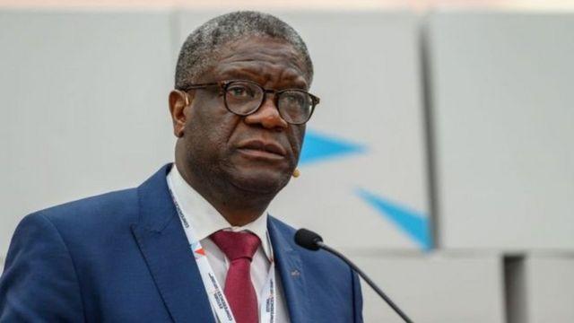 Le gynécologue congolais, Denis Mukwege, lauréat du Prix Nobel de la Paix 2018