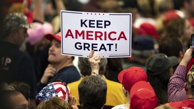 Trump destekçileri