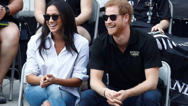 梅根和哈里王子
