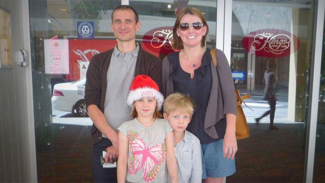Familia de Kathryn Berrisford