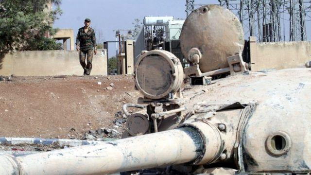 सीरिया का आरोप है कि उसके सैनिकों पर हमला किया गया.