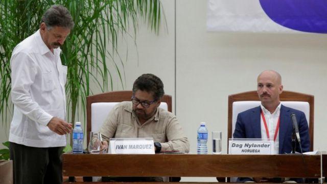 Подписание мирного соглашения между властями Колумбии и повстанческой группировкойц ФАРК 25 августа 2016 г.