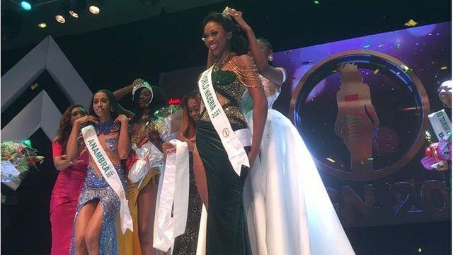 MBGN 2021 Oluchi Madubuike: Miss Abuja win Most Beautiful Girl in Nigeria -  BBC News Pidgin