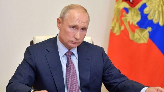 الرئيس فلاديمير بوتين