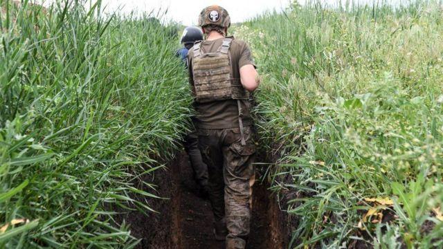 Бійці на Донбасі