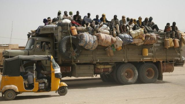 Migrants, Algérie