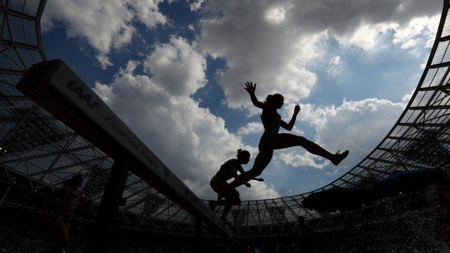 Atleta em Londres