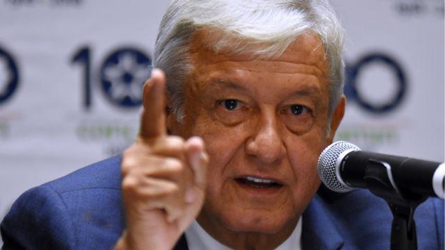 El presidente electo, Andrés Manuel López Obrador.