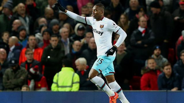 Diafra Sakho a marqué un but important, son premier de la saison, pour obtenir le match nul avec West Ham (1-1).