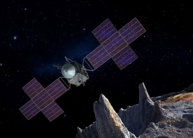 Psyche: Metal world mission targets 'iron volcanoes'