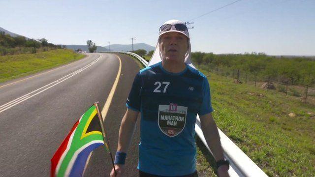 Eddie Izzard in South Africa