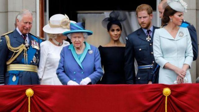 Membros da família real