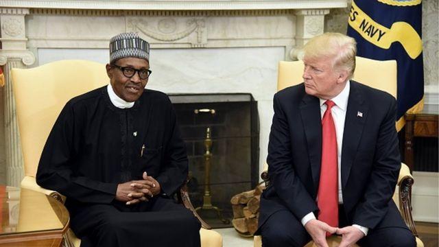 Najeriya za ta kulla yarjejeniya da Amurka kan kudin sata - BBC News Hausa