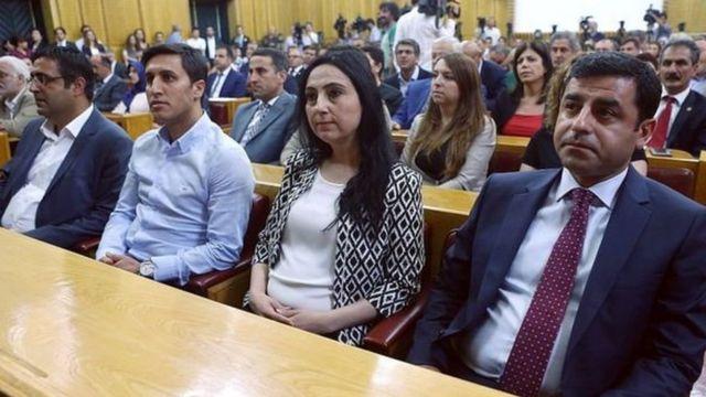 parlamentoda HDP grubu