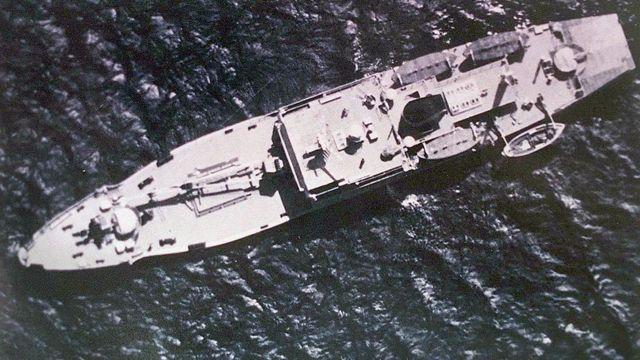 Một tàu của Trung Quốc ở Biển Đông (ảnh tư liệu)