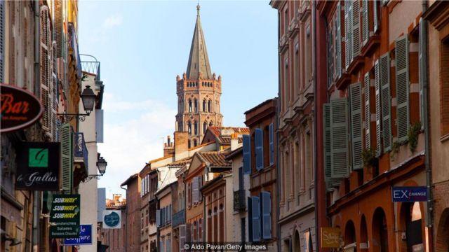 "法国图卢兹被称为""粉红之城"",有2000多年的历史(Credit: Aldo Pavan/Getty Images)"