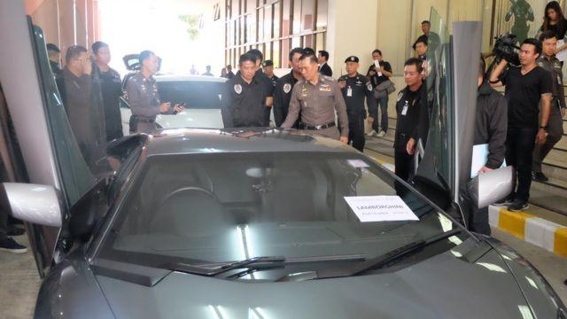 ทรัพย์สินที่ถูกยึดจากการจับกุมนายอาเล็กซองเดร คาเซส