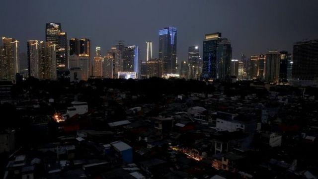 Blackout hits Jakarta, 4 August 2019
