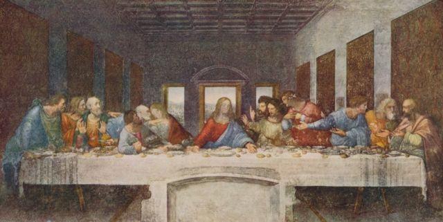 Leonardo Da Vinci duvar resmi