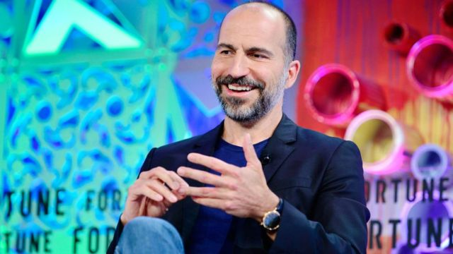 El presidente ejecutivo de Uber, Dara Khosrowshahi