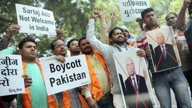 पाकिस्तान का विरोध