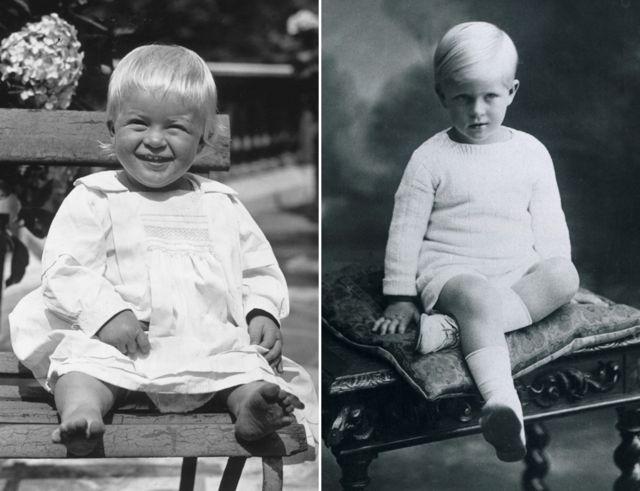 فيليب عندما كان ولداً صغيراً