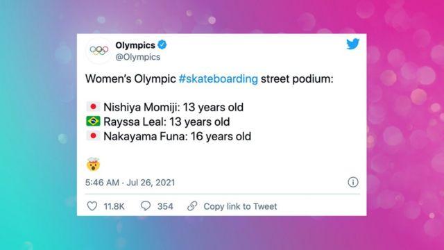 Tuit olímpico